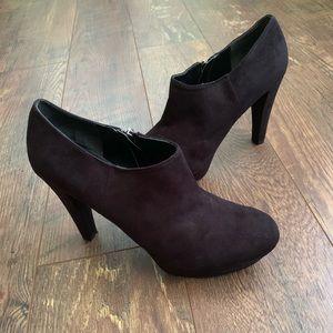Marc Fisher Abetter Platform Bootie Black Shoes